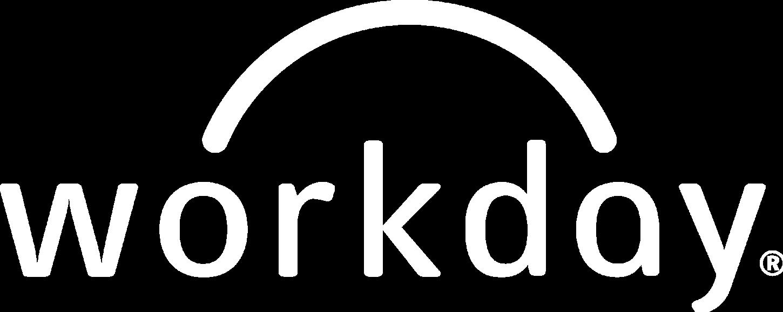 Workday white logo